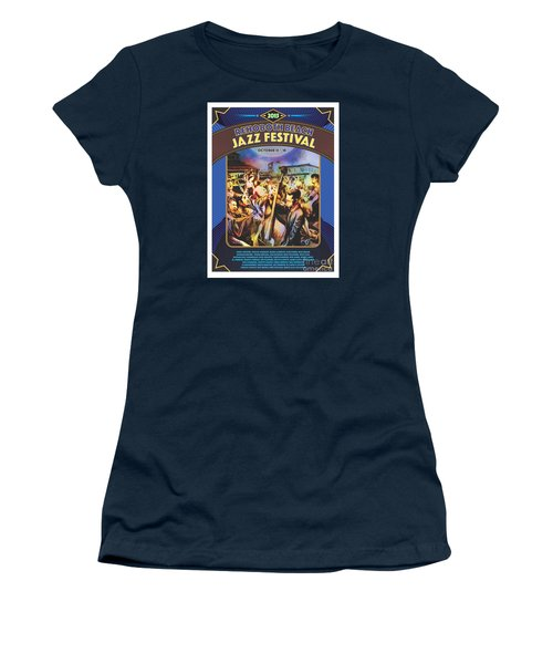 Rehoboth Beach Jazz Fest 2015 Women's T-Shirt (Athletic Fit)