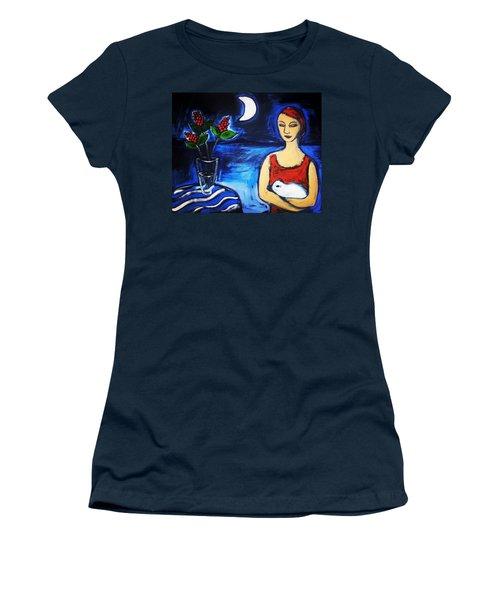 Renewal Women's T-Shirt (Junior Cut) by Winsome Gunning