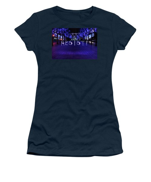 Resistance Light Painting Women's T-Shirt