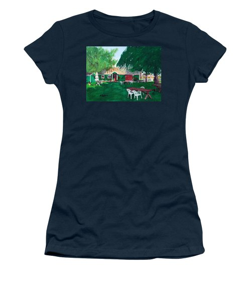 Retzlaff Winery Women's T-Shirt (Junior Cut) by Mike Robles