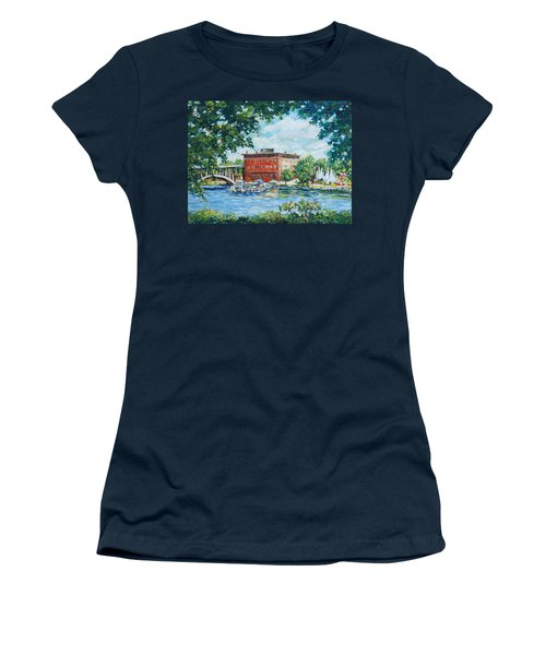Rever's Marina Women's T-Shirt (Junior Cut) by Alexandra Maria Ethlyn Cheshire