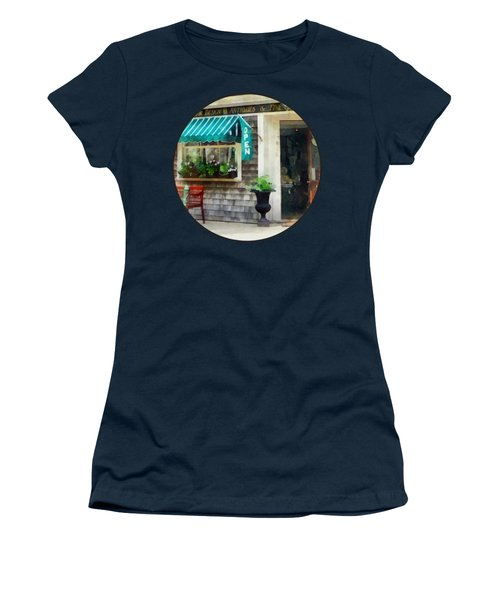 Rhode Island - Antique Shop Newport Ri Women's T-Shirt (Athletic Fit)