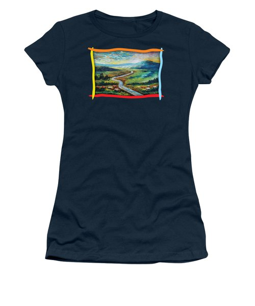 River In The Valley Women's T-Shirt