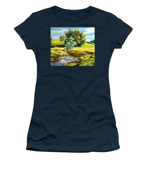 River Of Life Women's T-Shirt (Athletic Fit)