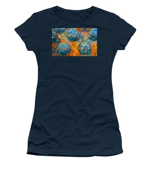 Riveted Women's T-Shirt (Athletic Fit)