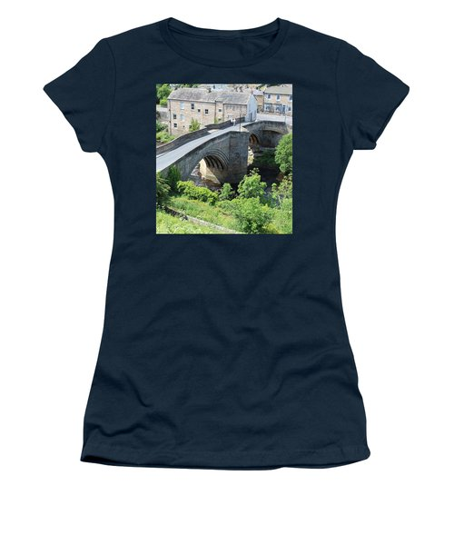 Roadbridge Over The River Tees Women's T-Shirt (Athletic Fit)