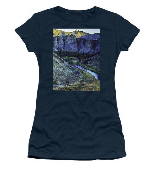 Rock Climbing Mecca Women's T-Shirt