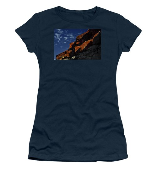 Sky And Rocks Women's T-Shirt