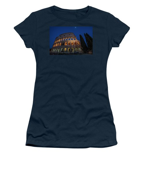Roman Coliseum In The Evening  Women's T-Shirt