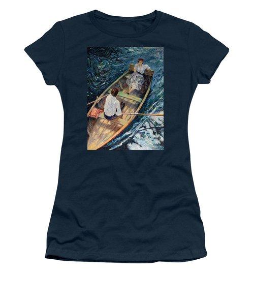 Dordogne , Beynac-et-cazenac , France ,romantic Boat Trip Women's T-Shirt