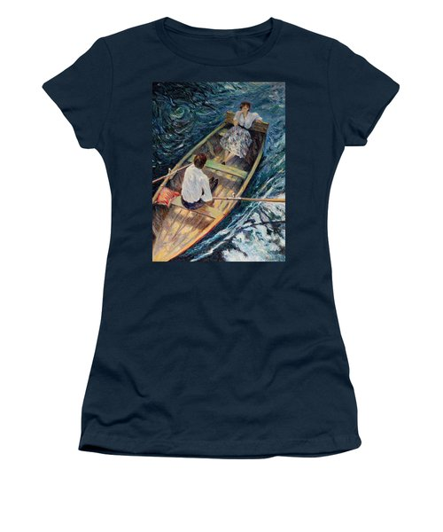 Dordogne , Beynac-et-cazenac , France ,romantic Boat Trip Women's T-Shirt (Athletic Fit)