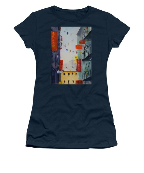 Ross Alley1 Women's T-Shirt (Athletic Fit)