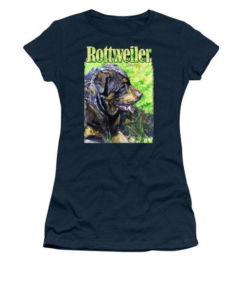 Rottweiler Womens T Shirts Fine Art America