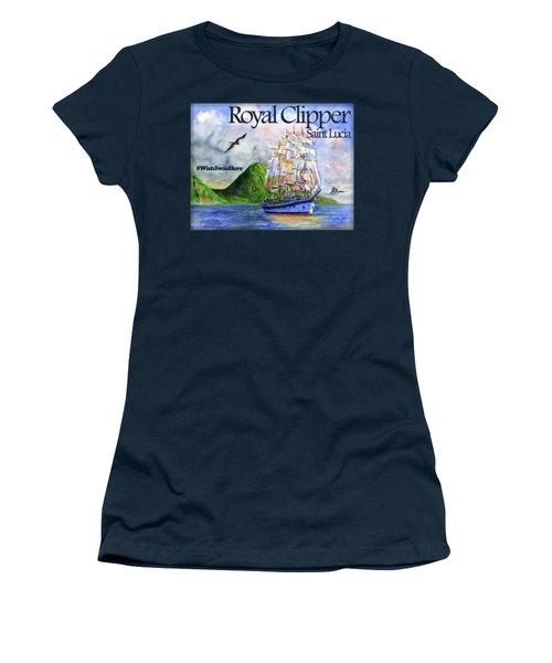 Royal Clipper St Lucia Shirt Women's T-Shirt (Athletic Fit)
