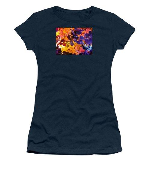 Royal Purple Smoke Bush Women's T-Shirt
