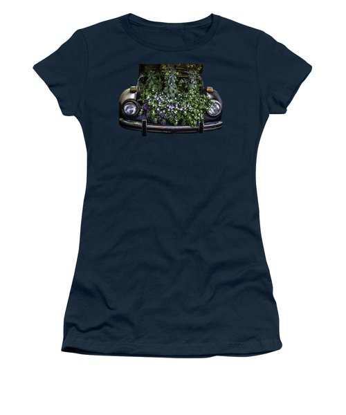 Running On Flowers Women's T-Shirt (Athletic Fit)