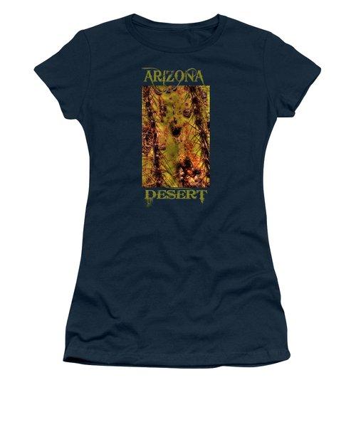 Saguaro Detail No. 25 Women's T-Shirt
