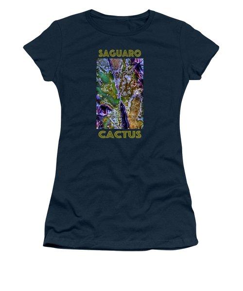 Saguaro Detail No. 9 Women's T-Shirt
