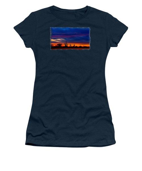 Saguaro Sunset V16 Women's T-Shirt