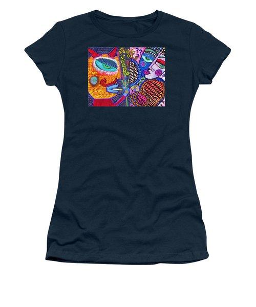-sold- Saint Heart Or Sinner  Women's T-Shirt