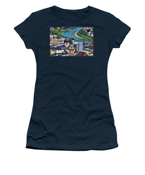 Salzburg Austria Europe Women's T-Shirt (Junior Cut) by Sabine Jacobs