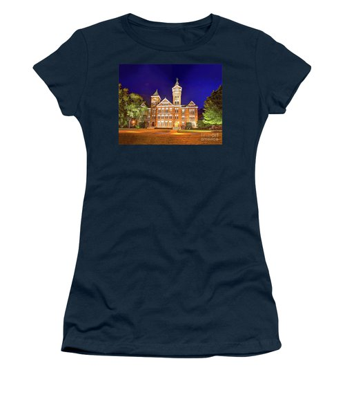 Samford Hall At Night Women's T-Shirt