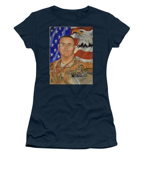 Sand Dune Tragedy Women's T-Shirt (Junior Cut) by Ken Pridgeon