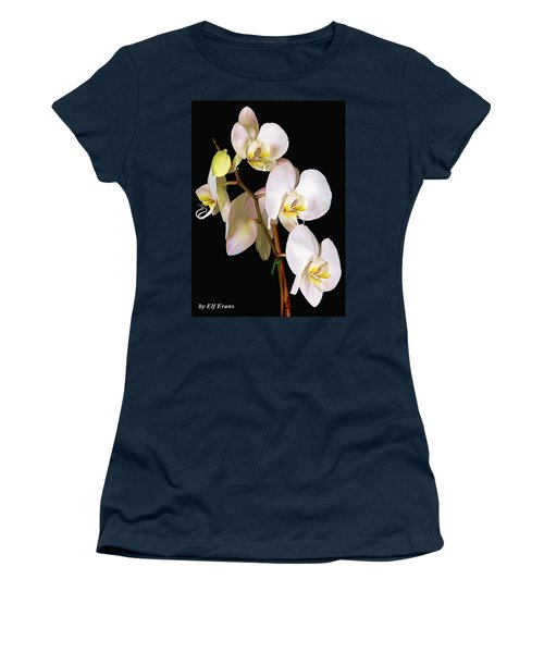 Women's T-Shirt (Athletic Fit) featuring the photograph Sara Ella by Elf Evans