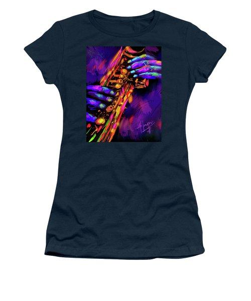 Saxy Hands Women's T-Shirt