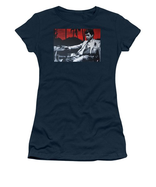 Scarface - Sunset 2013 Women's T-Shirt (Athletic Fit)