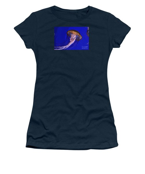 Women's T-Shirt (Junior Cut) featuring the photograph Sea Jelly by Jeanette French