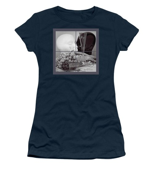 Women's T-Shirt (Athletic Fit) featuring the photograph Sections by Elf Evans