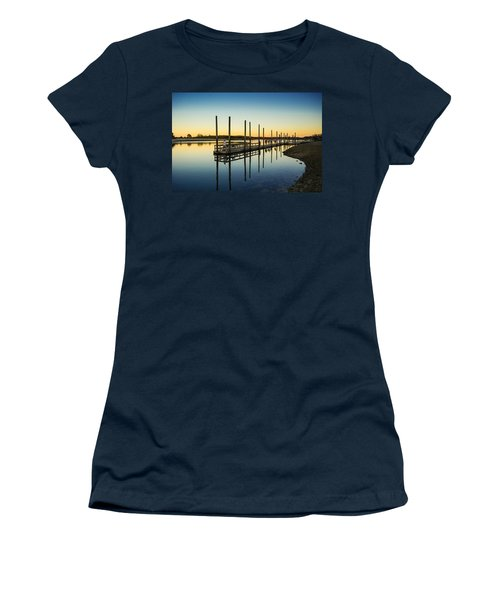 Serenity Sunset Kings Park New York Women's T-Shirt