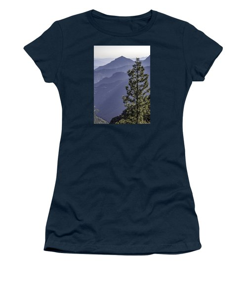 Women's T-Shirt (Junior Cut) featuring the photograph Sierra Nevada Foothills by Steven Sparks