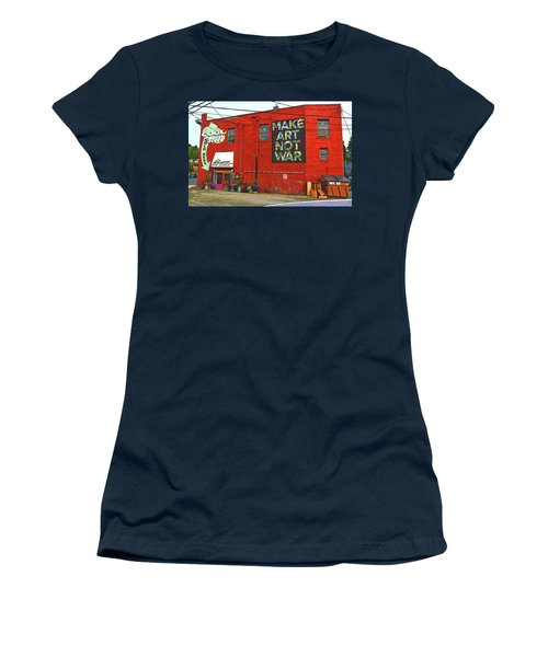 Sign Of The Time Women's T-Shirt (Athletic Fit)