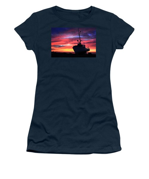 Silhouette Sunset Women's T-Shirt