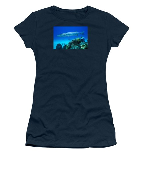 Silver Stalker Women's T-Shirt (Athletic Fit)