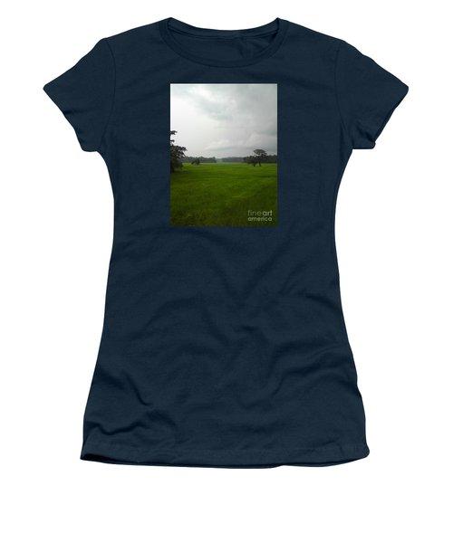 Simple Green Women's T-Shirt (Junior Cut) by Rushan Ruzaick
