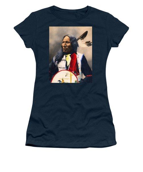 Sioux Chief Portrait Women's T-Shirt