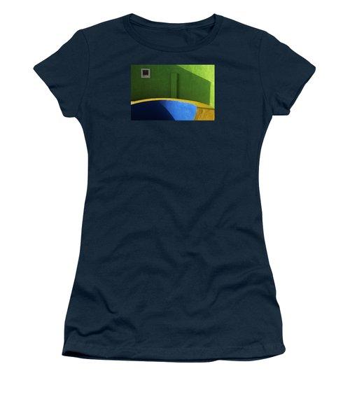 Skc 0305 The Fundamental Colors Women's T-Shirt (Junior Cut) by Sunil Kapadia