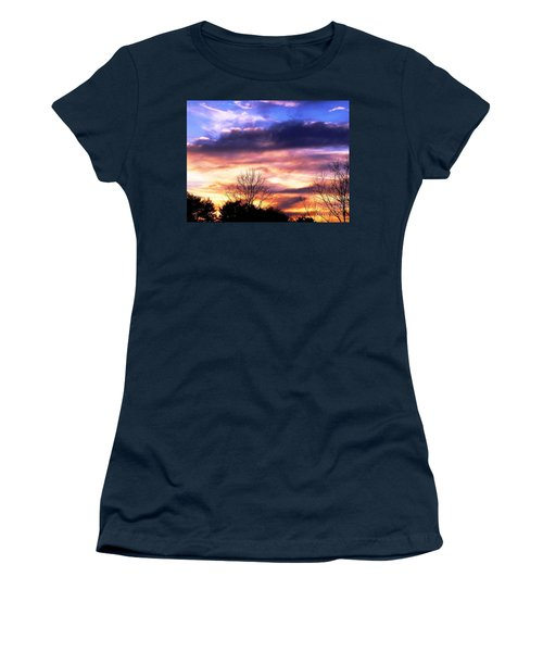 Sky Study 8 3/11/16 Women's T-Shirt (Athletic Fit)