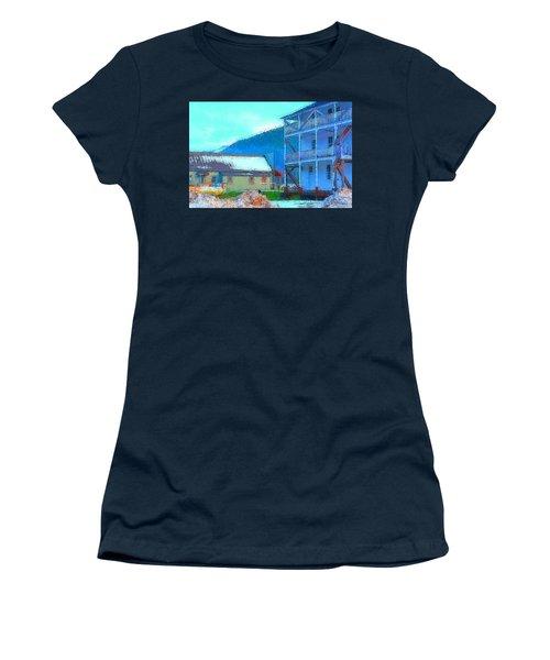 Skykomish  Women's T-Shirt (Junior Cut) by Tobeimean Peter