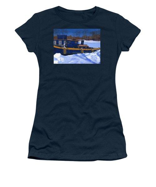 Sleeping Barge Women's T-Shirt
