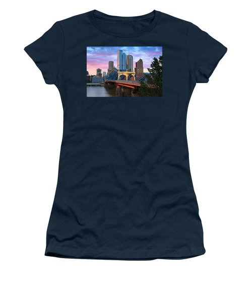 Smithfield Street Bridge Women's T-Shirt (Athletic Fit)