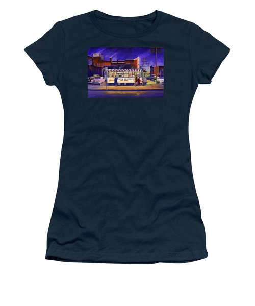 Snack Wagon Women's T-Shirt (Athletic Fit)