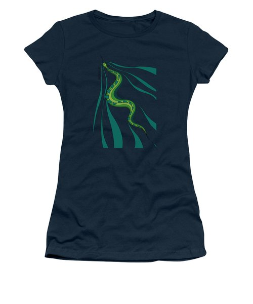 snakEVOLUTION I Women's T-Shirt (Athletic Fit)