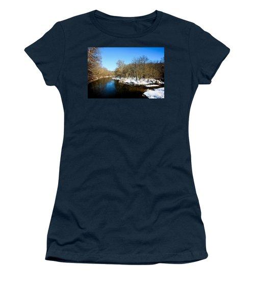 Snowy Creek Morning Women's T-Shirt