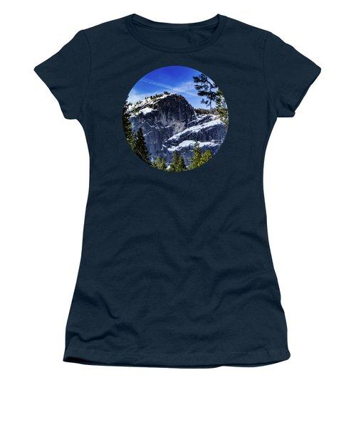 Snowy Sentinel Women's T-Shirt (Junior Cut) by Adam Morsa