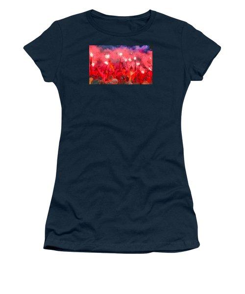Soccer Fans Pictures Women's T-Shirt