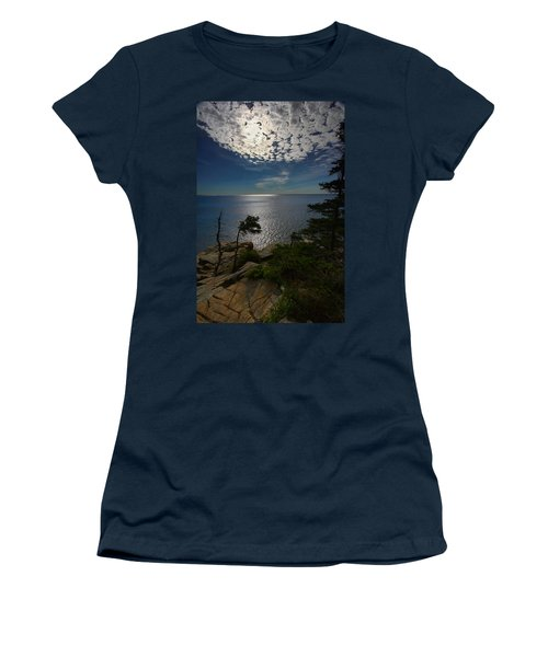 Soft Light On Otter Point Women's T-Shirt (Athletic Fit)